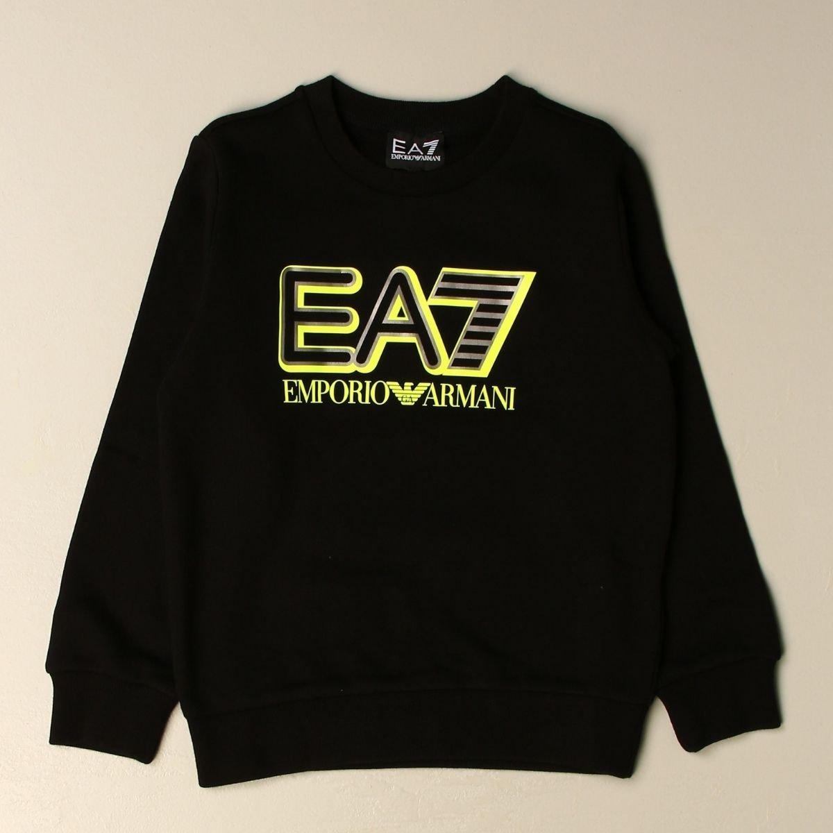 Felpa EA7 Girocollo In...