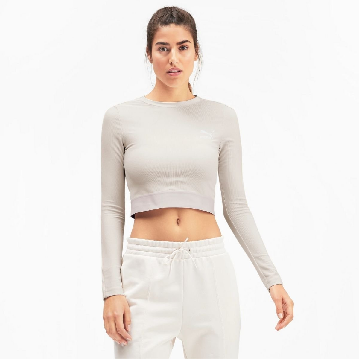 T-Shirt Puma Cropped Slim A...