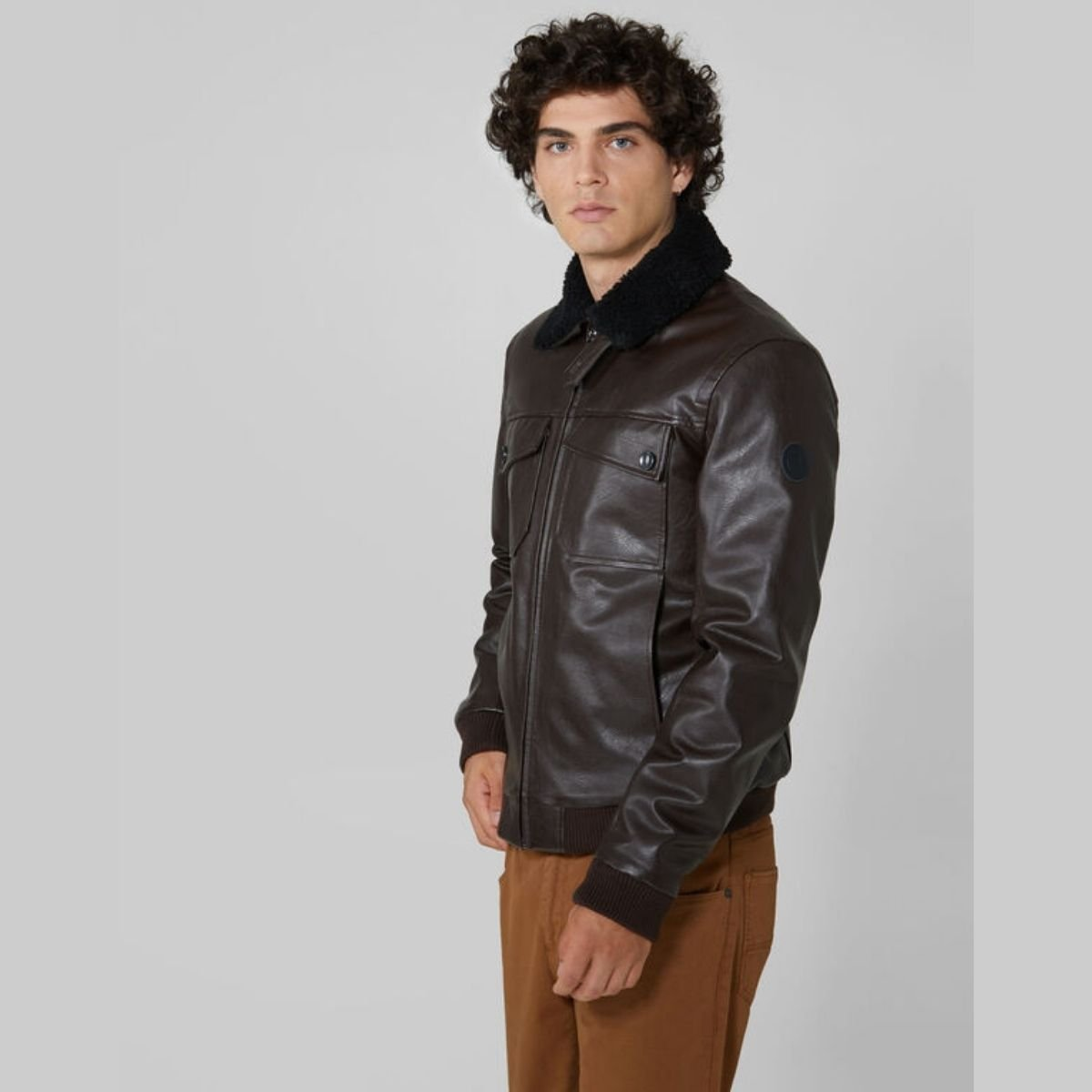 Giacca Trussardi Similpelle...