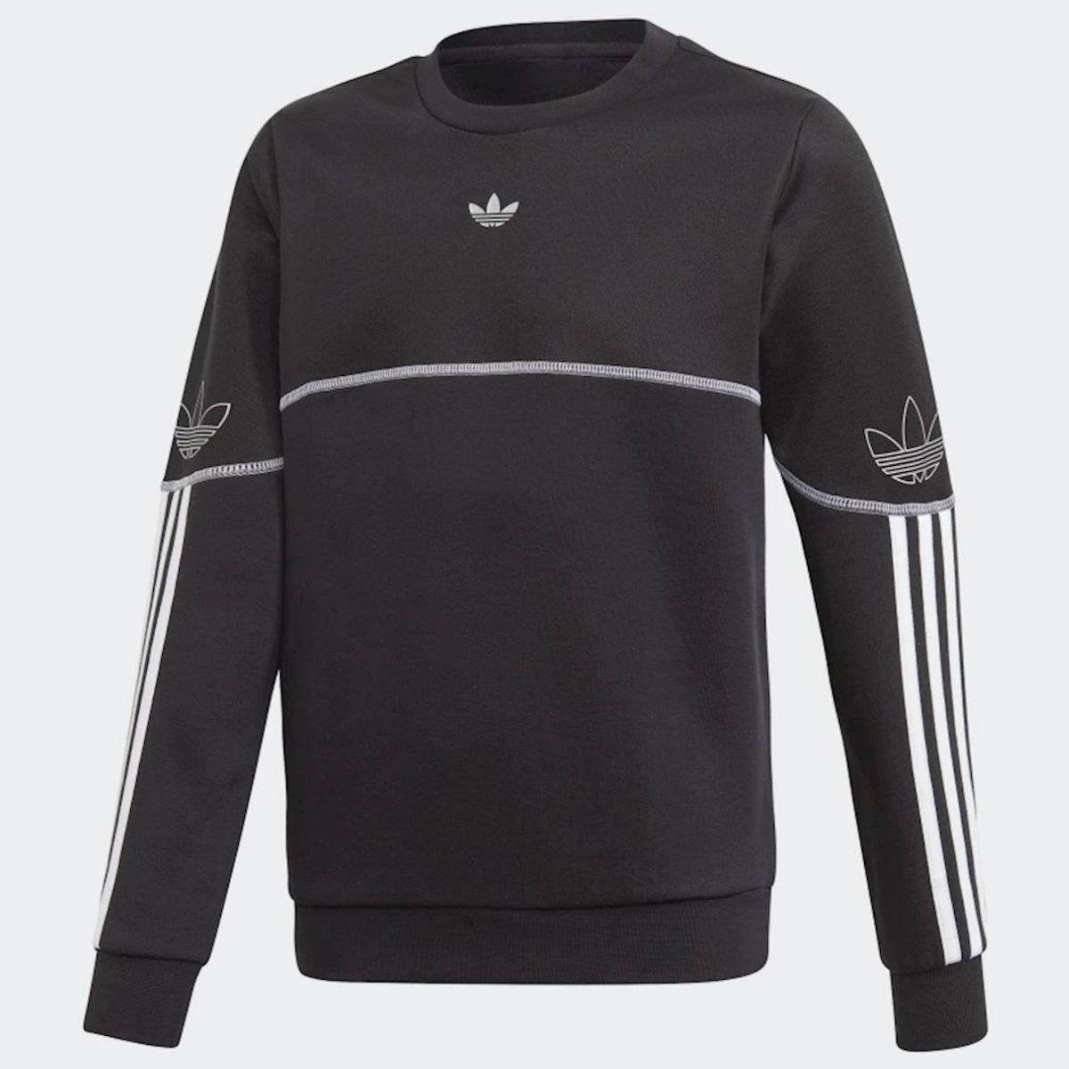 Felpa Adidas Outline Crew...
