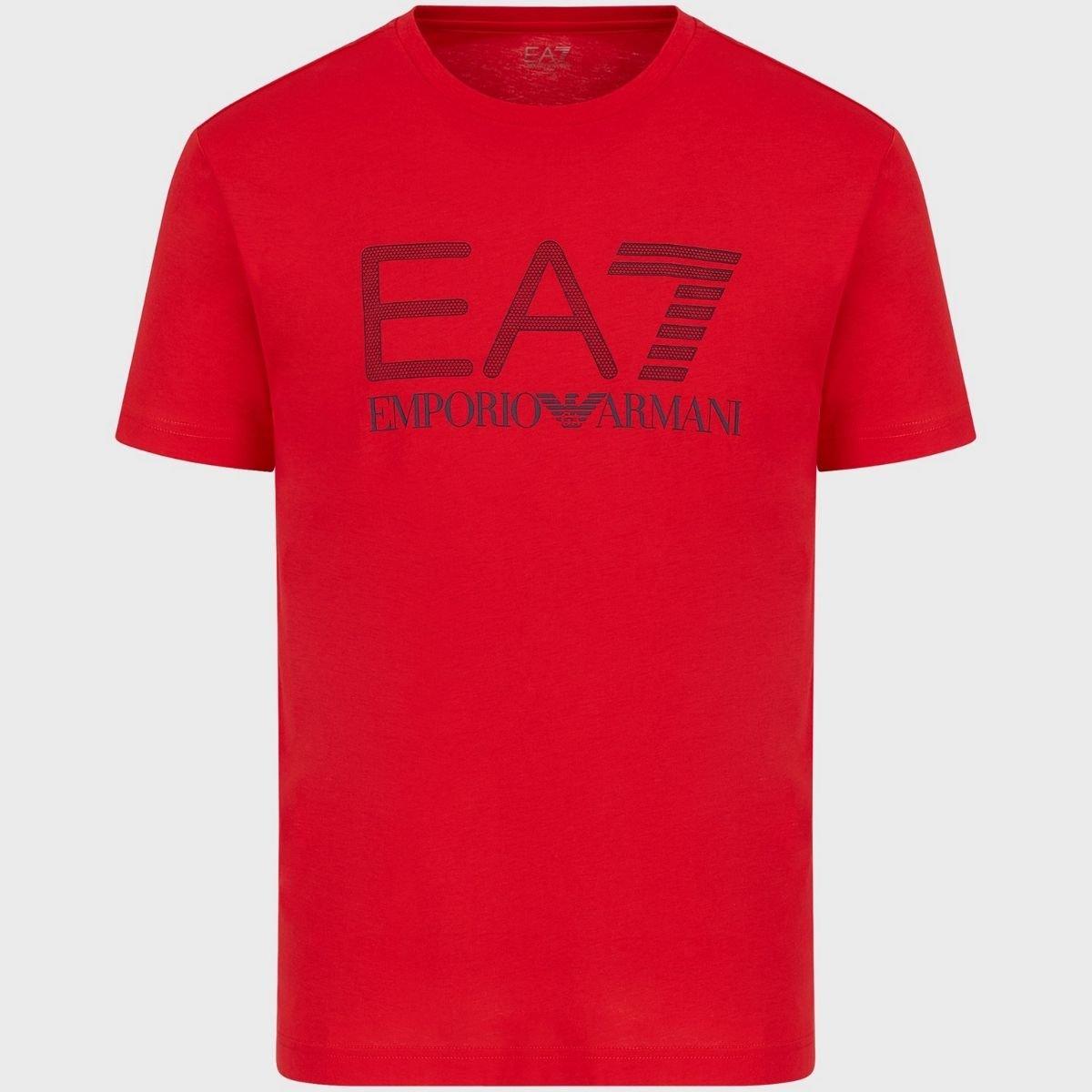 T-shirt EA7 In Cotone Maxi...