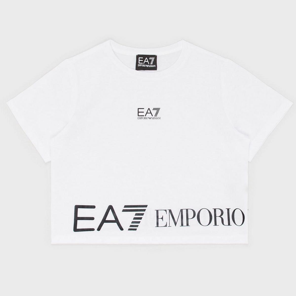 T-shirt EA7 Cropped Maxi...