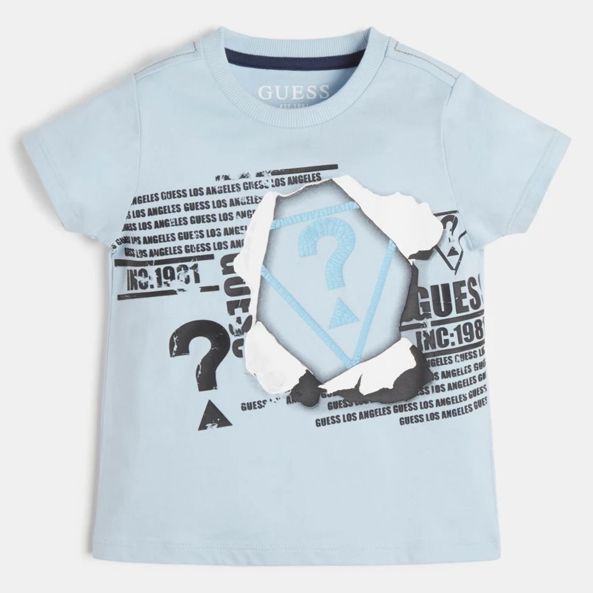 T-shirt Guess In Cotone...