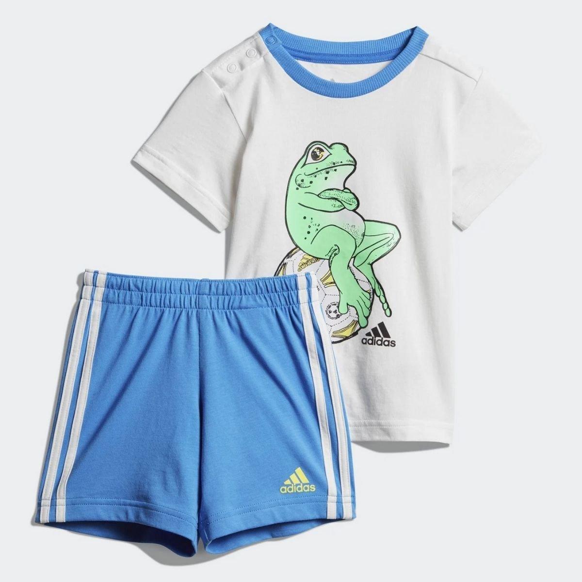 Set Adidas In Cotone Animal...