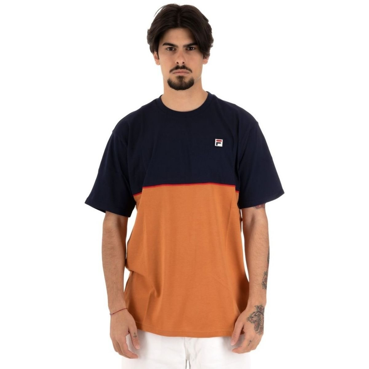 T-Shirt Fila Haverd Effetto...