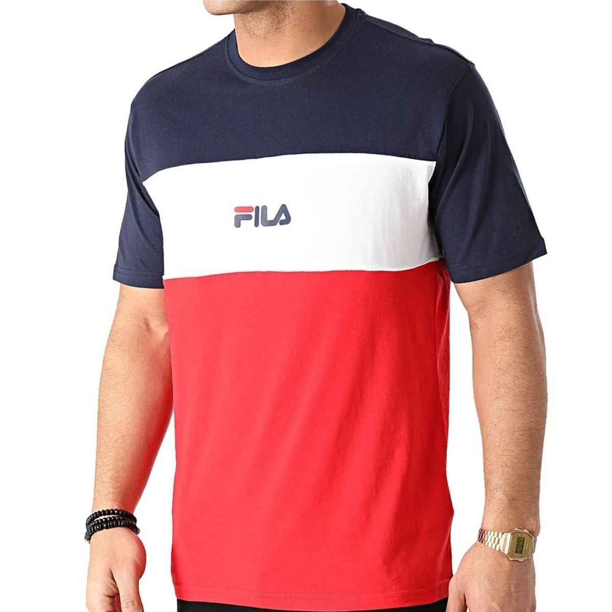 T-Shirt Fila Aniki Motivo...