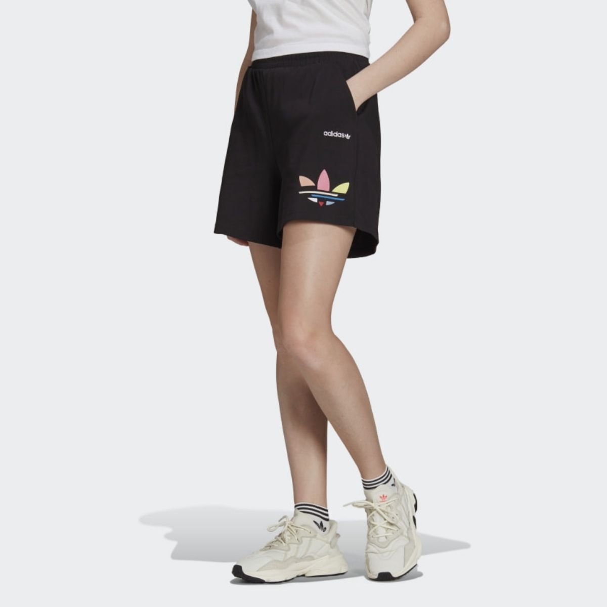 Shorts Adidas Trifoglio...