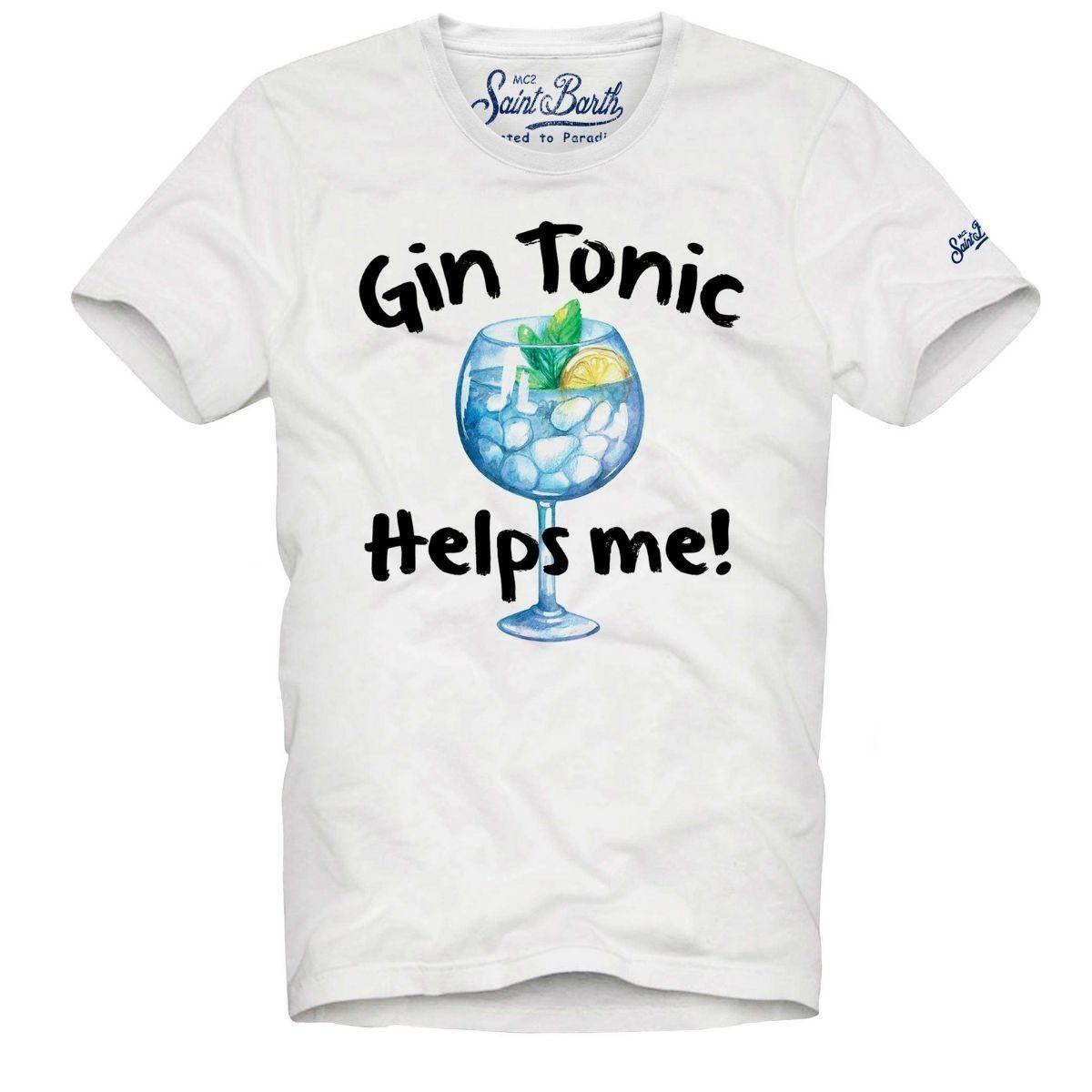 T-Shirt MC2 Saint Barth Gin...