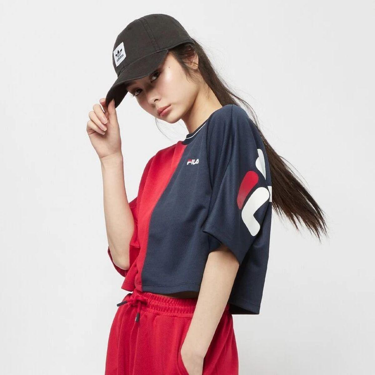 T-Shirt Fila Sadah Bicolor...