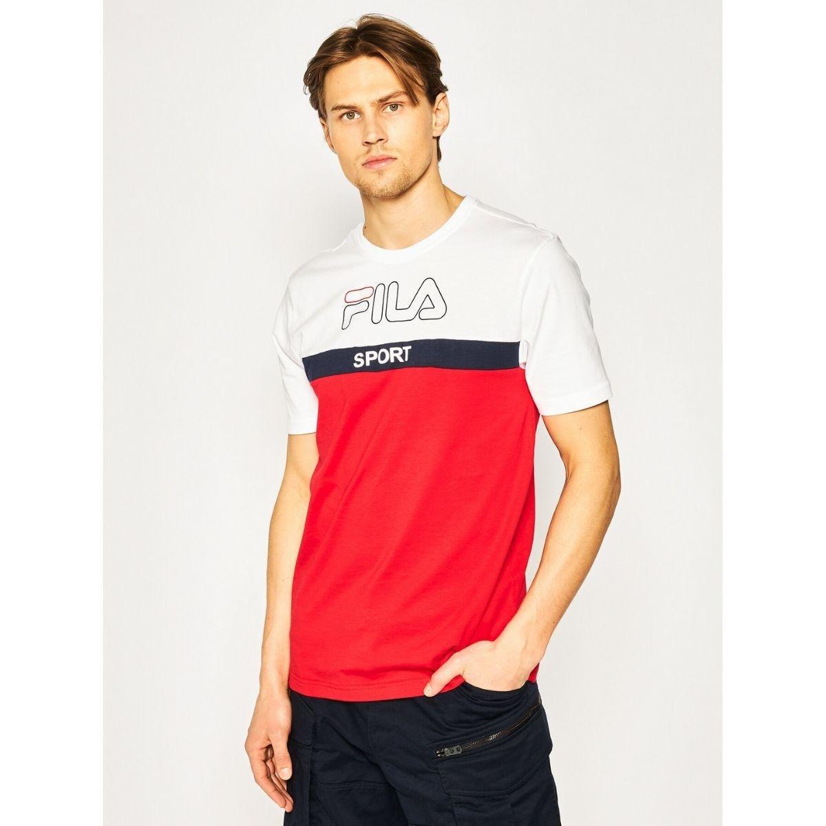 T-Shirt Fila Lars Bicolore...