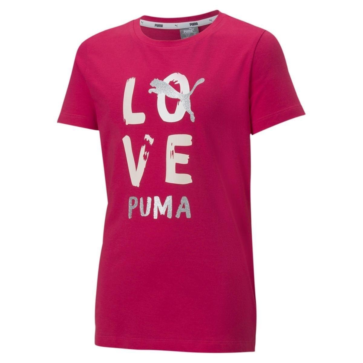 T-Shirt Puma Girocollo...