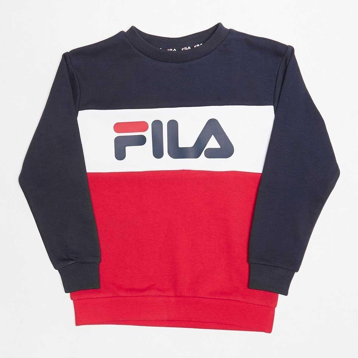Felpa Fila Color Block...