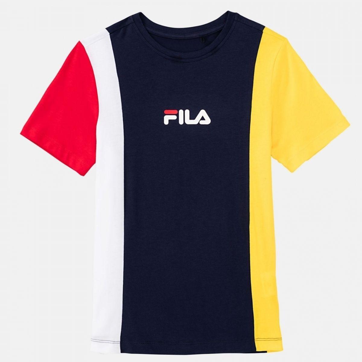 T-Shirt Fila Tate Blocchi...