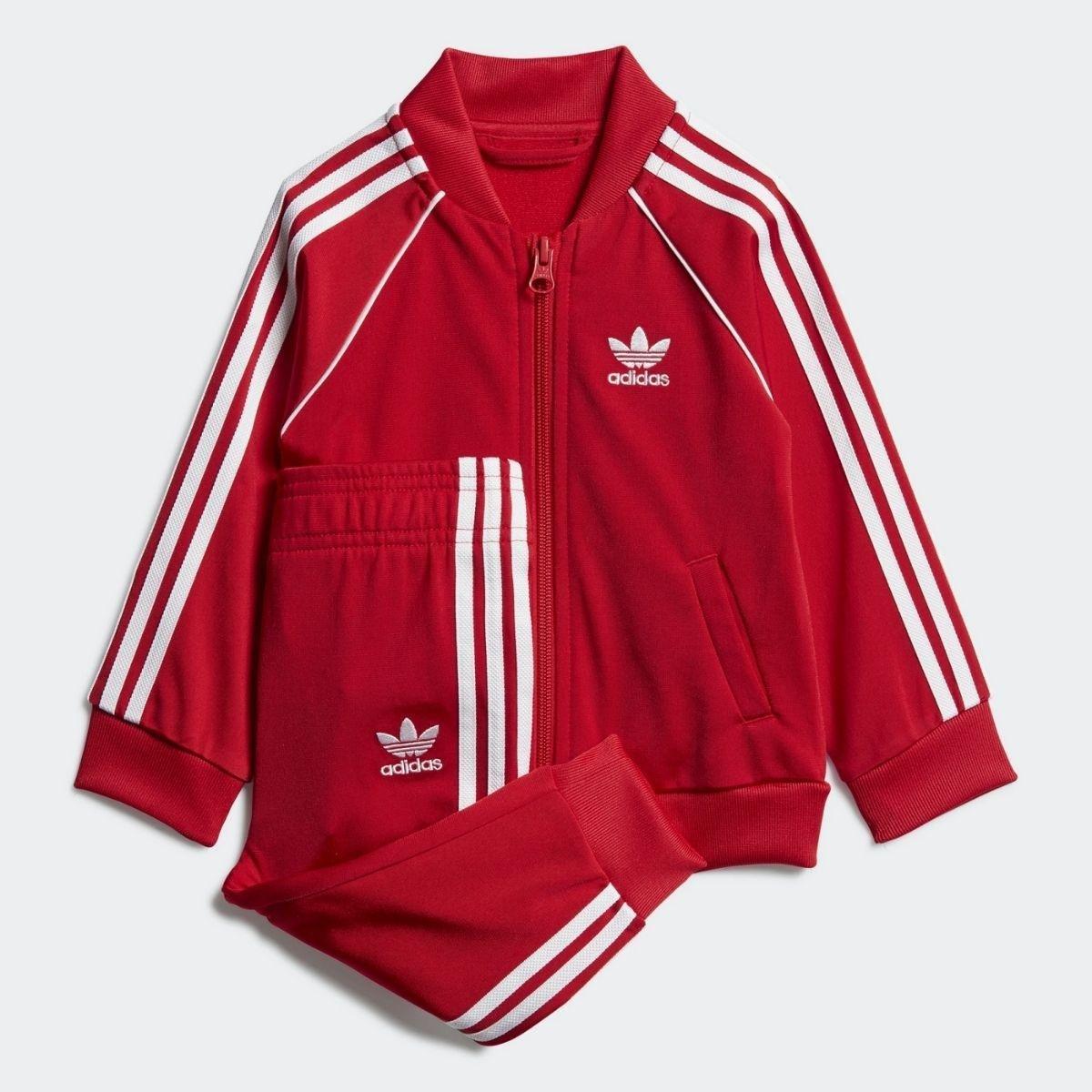Set Adidas Tuta Cerniera 3...