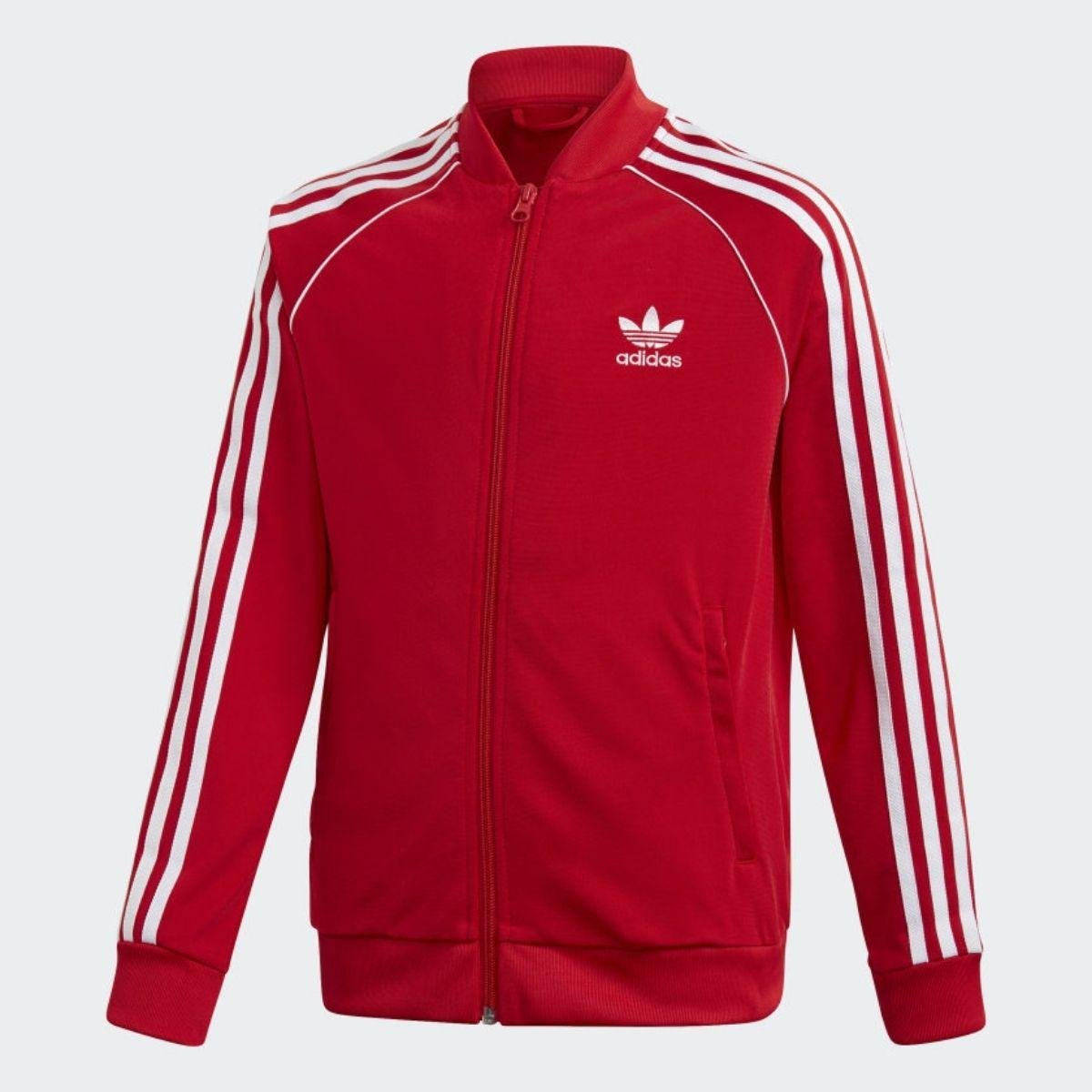 Felpa Adidas Cerniera Track...
