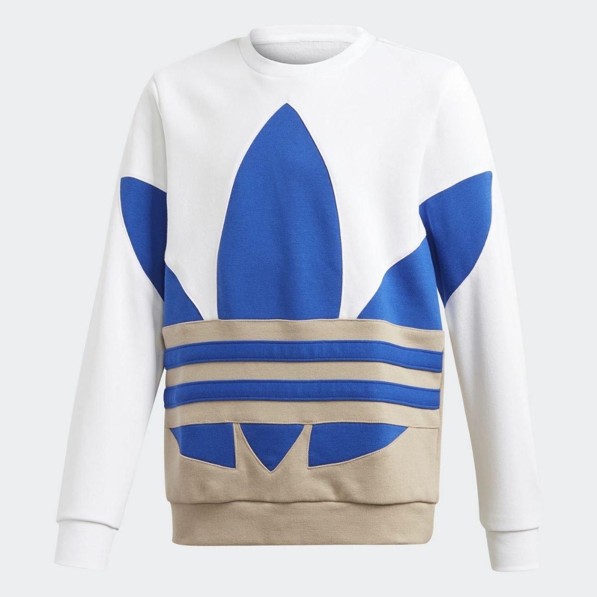 Felpa Adidas Big Trifoglio...