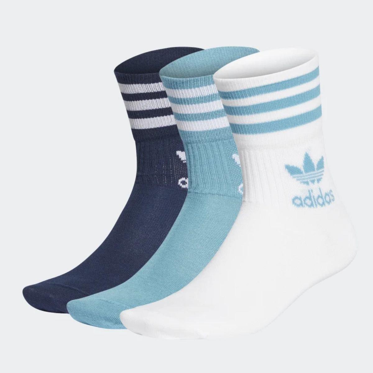 Calza Adidas Mid-Cut Crew 3...