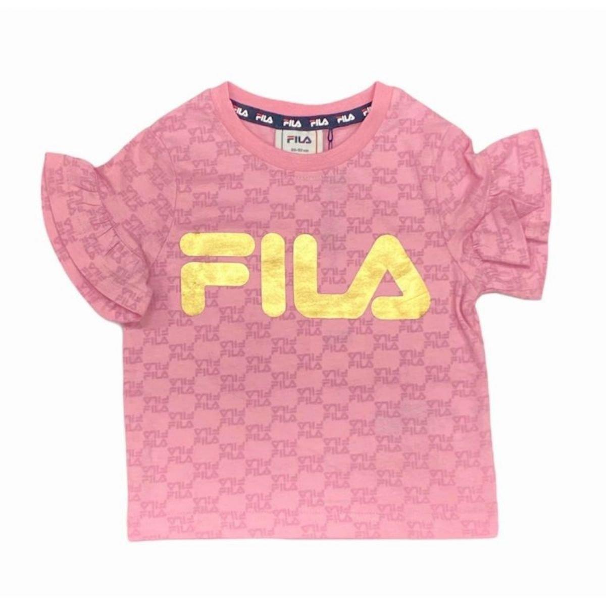 T-shirt Fila Con Volant...